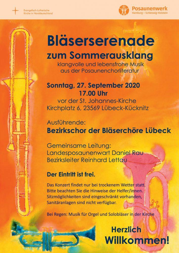 Plakat Lübeck
