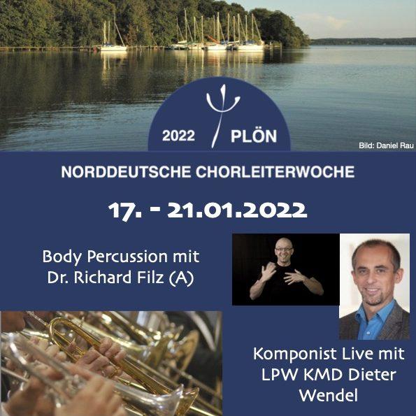 Save the date - Norddeutsche Chorleiterwoche 2022
